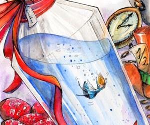 alice in wonderland, disney, and background image