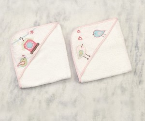 baby products, baby clothing accessories, and hooded bath towels image