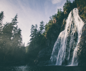 waterfall and nature image