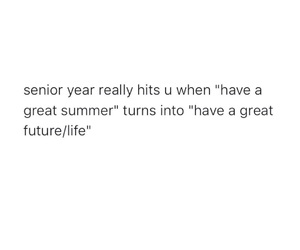 future, words, and high school image
