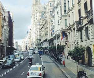 cars, madrid, and spain image