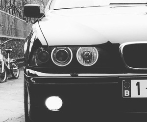 bmw, m5, and angel eyes image