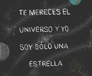 love, frases, and stars image