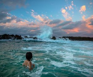 ocean, spring, and summer image