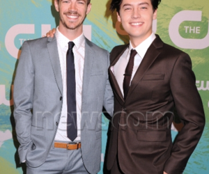 grant gustin and cole sprouse image