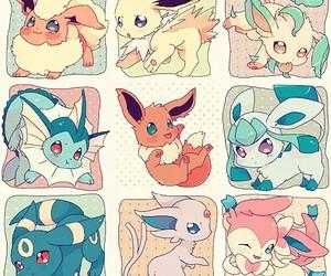 pokemon, eevee, and umbreon image