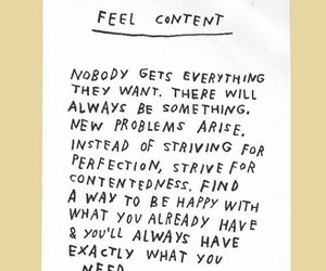quotes, content, and happy image