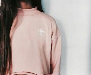 adidas, girl, and fashion image