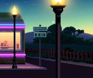 game, light, and night image