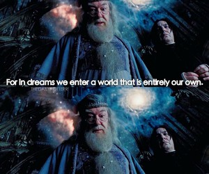 albus dumbledore, harry potter, and quotes image