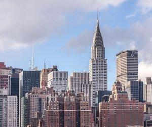 chrysler building, new york, and new york city image