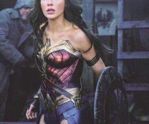 wonder woman, gal gadot, and DC image