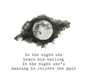 in the night, quote quotes, and words lyrics image