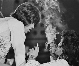 70s, Keith Richards, and mick jagger image