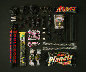 black, candy, and sweet image