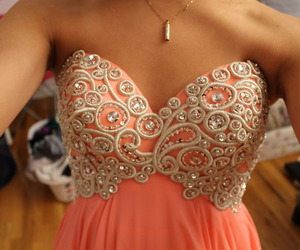 dress, pink, and pretty image