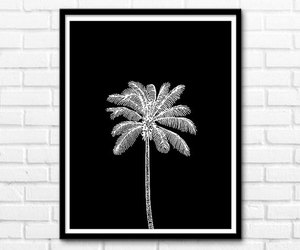 black and white, cool, and decor image