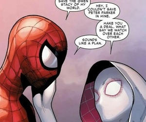 quote, spider-man, and peter parker image