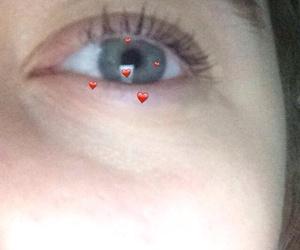 blue eyes, eyebrow, and girl image
