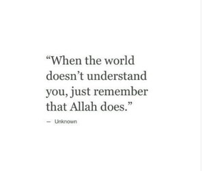 quotes, allah, and islam image