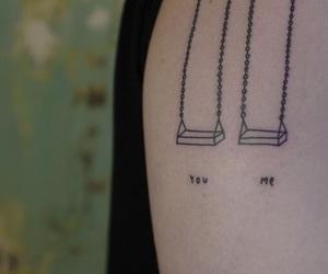 me, mini, and tattoo image