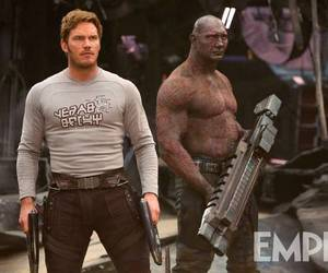 Marvel, chris pratt, and guardians of the galaxy image