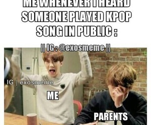 kpop, exo, and funny image