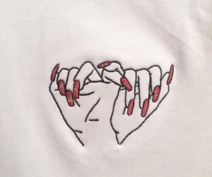 nails, hands, and art image