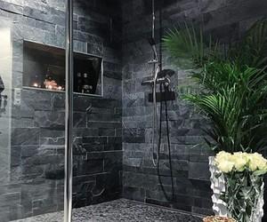 bathroom, interior, and shower image