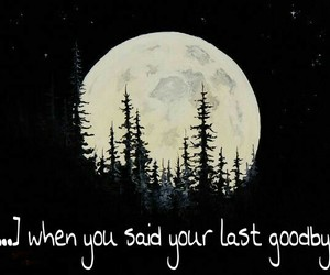 moon, sad, and sadtrue image