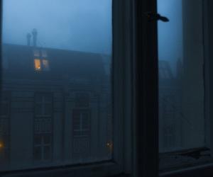 dark, house, and night image