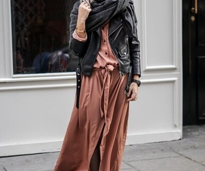 leather, long, and style image