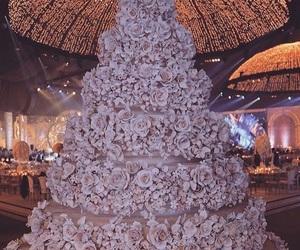 cake, sweet, and white image