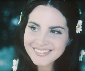 lana del rey, love, and flowers image