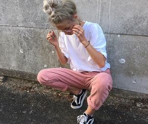 fashion, girl, and stylé image