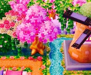 game, acnl, and bright image