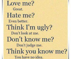 quotes, hate, and ugly image