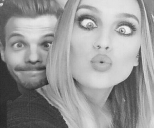 icon, louistomlinson, and perrie edwards image