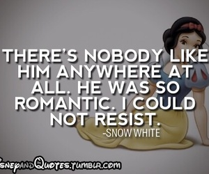 disney, quote, and white snow image
