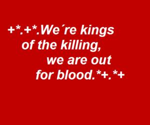aesthetic, blood, and Lyrics image
