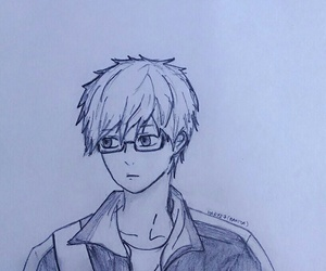 drawings, sketch, and hibi chouchou image