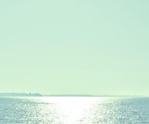 mint green, sea, and ocean image