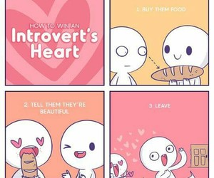 alone, introvert, and me image