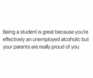 alcoholic, college, and funny image
