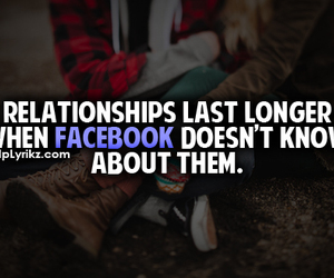 facebook, forever, and Relationship image
