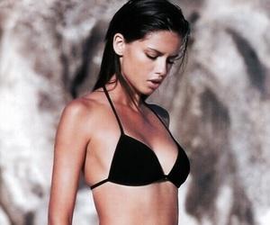 model, Adriana Lima, and bikini image