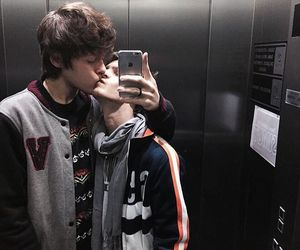 couples, kiss, and love is love image