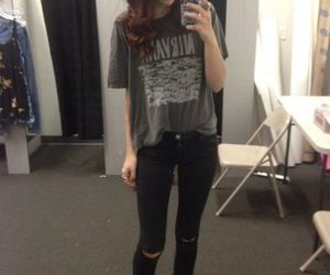 grunge, clothes, and outfit image