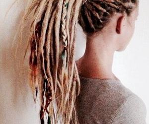 dreadlocks, girl, and blonde image