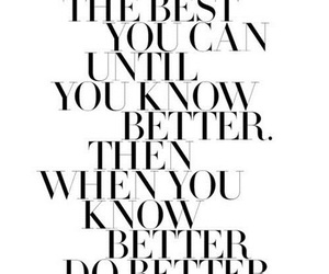 quote, better, and Best image